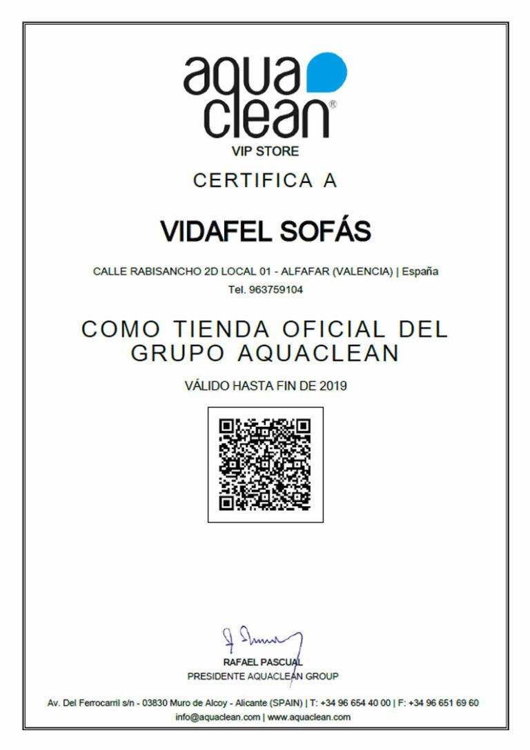 VIDAFEL | Distribuidor Oficial telas Aquaclean Visual Valencia