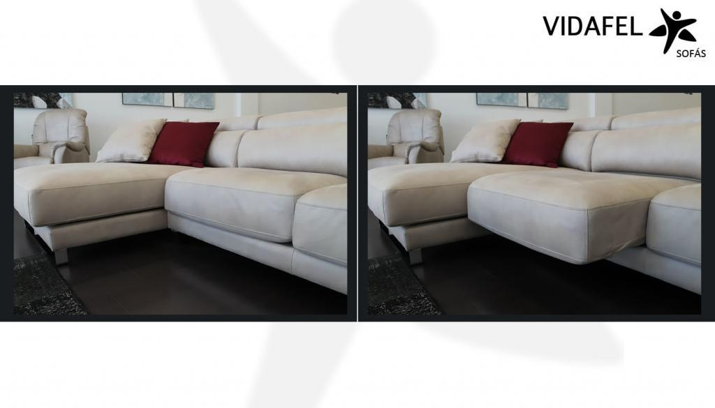 Asiento deslizante/extraíble sofás