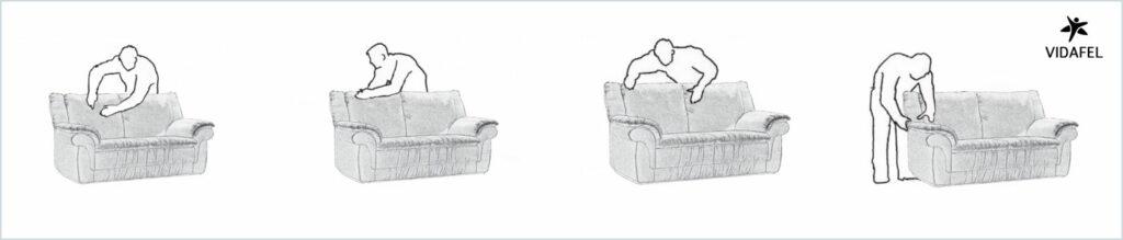 Palmeado sofas