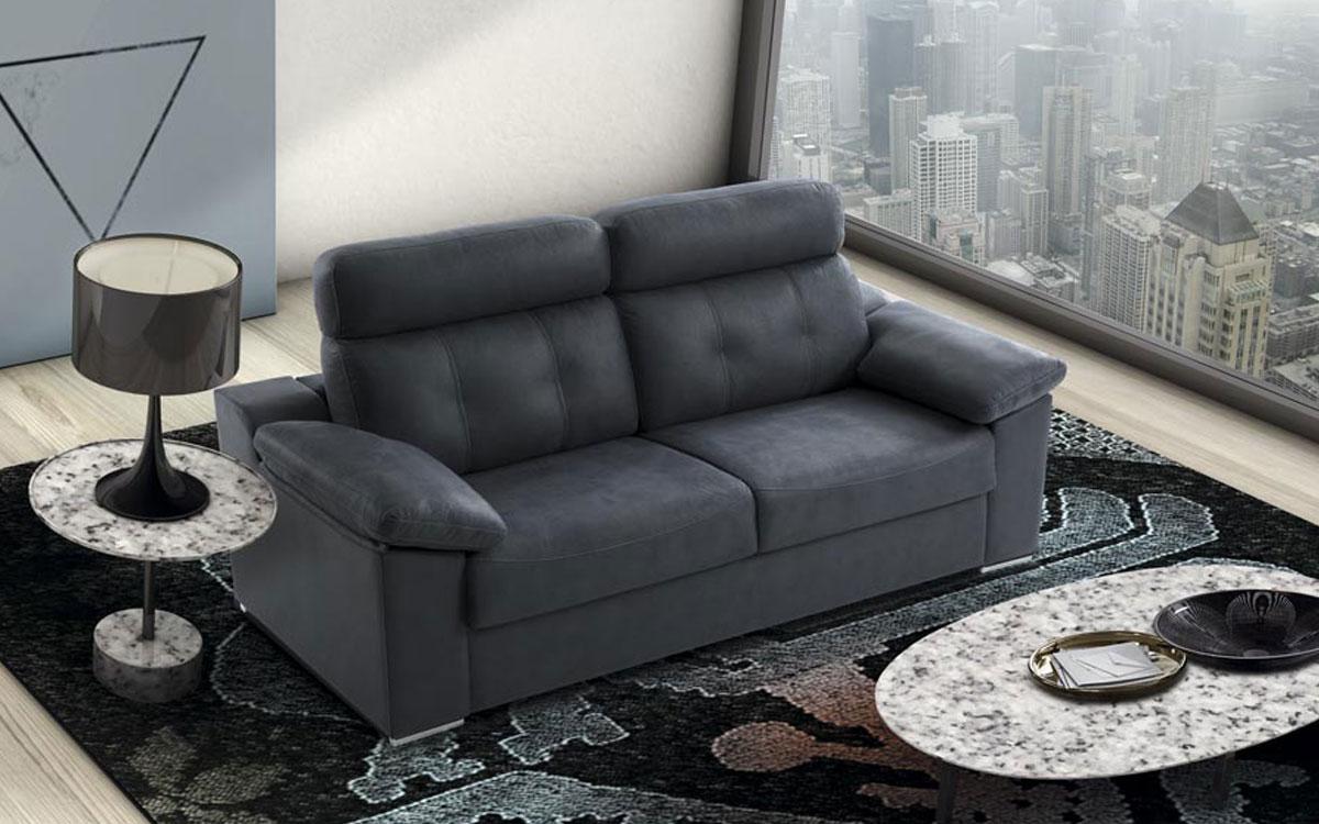 Sofa cama Africa con mecanismo de apertura italiano