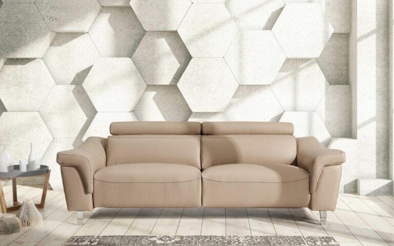 Sofa relax en piel Varese