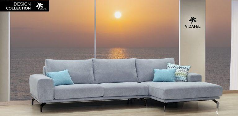 Sofá en Tela, mucho diseño, muuy bonito, muy cómodo, respaldo liso, fibra, respaldo bajo, patas metálicas altas, brazos rectos acolchados, lujo, elegante, sofá de 3 plz, sofá de tres plazas, cheslong, chaise longue, cheslon