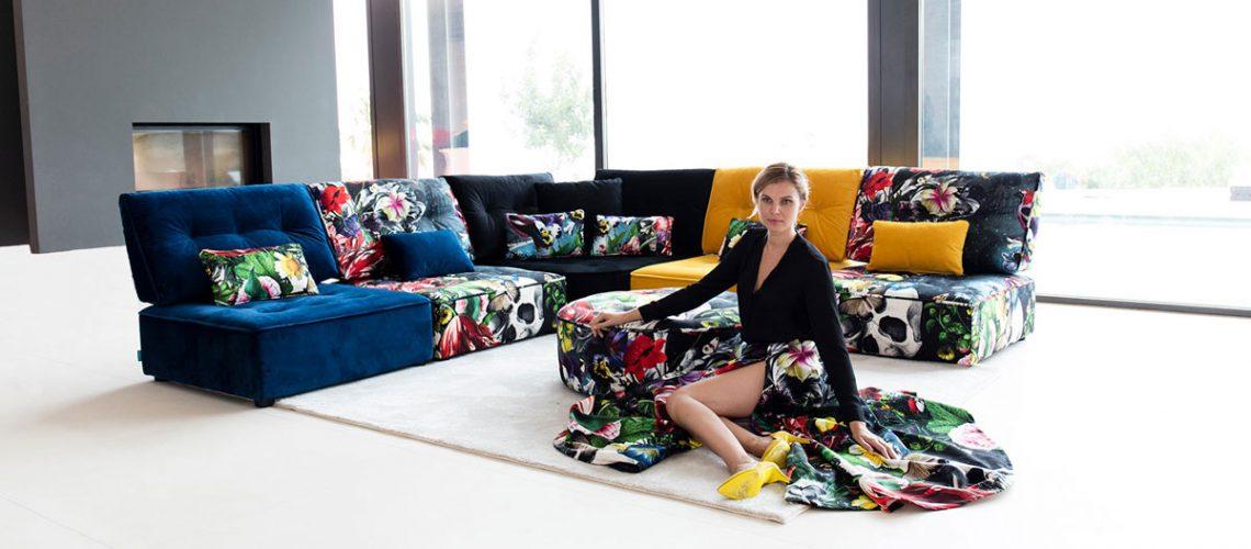 Sofa rinconera Arianne Love de Fama Sofas